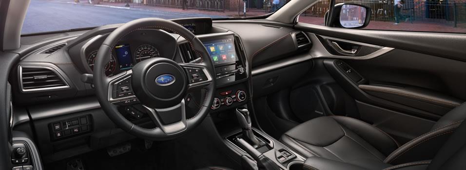 Interior - 2018 Crosstrek - Centaur Subaru