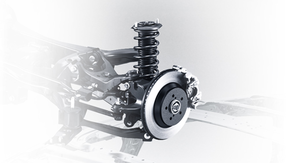 Subaru Crosstrek 2020 Rear Suspension