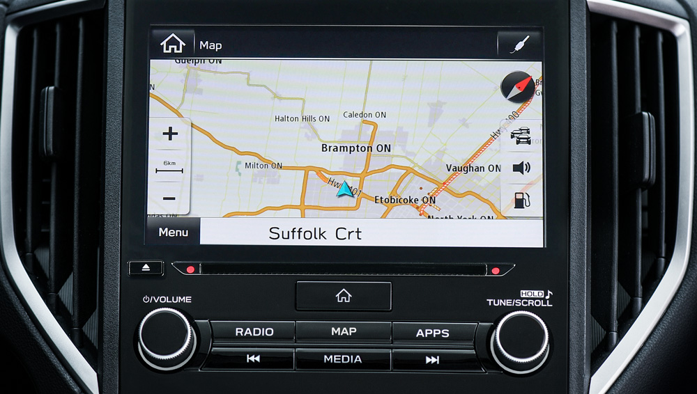 "2021 Subaru Crosstrek - 6.5"" or 8"" high-resolution, multi-gesture touchscreen that controls how you stay connected, entertained and informed"