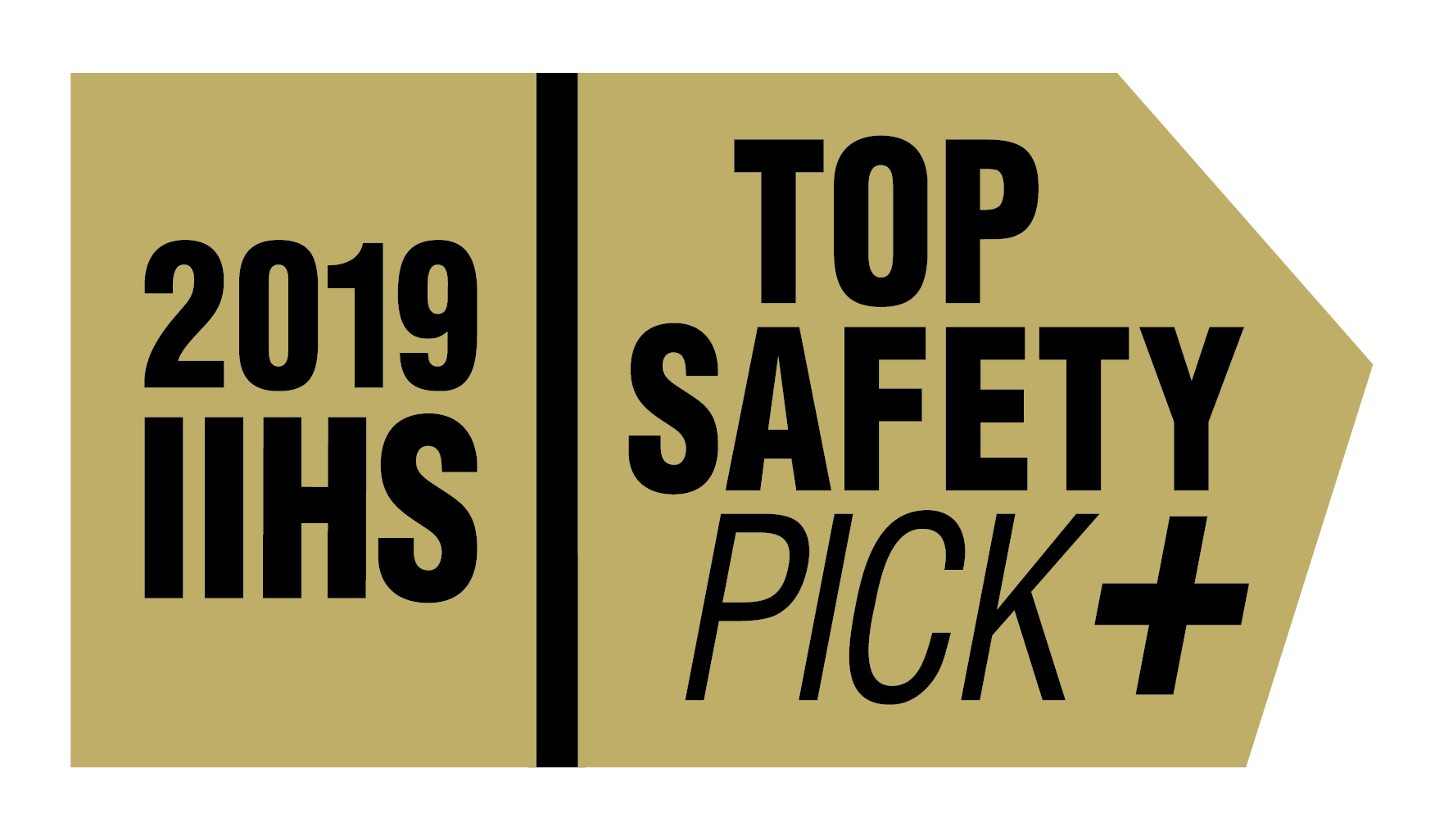 Top Safety Pick Award Plus